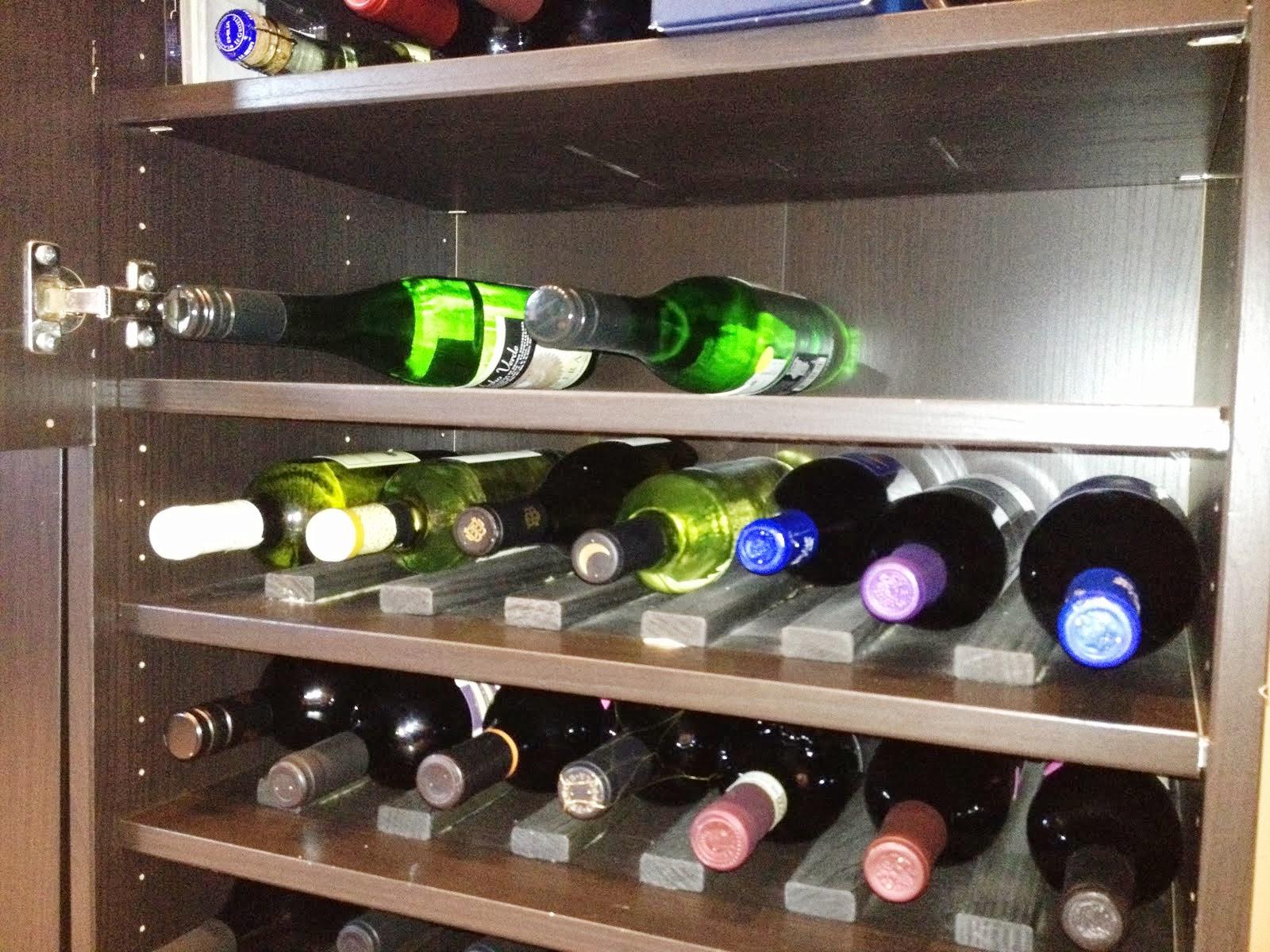Besta Wine Rack And Liquor Cabinet Ikea Hackers