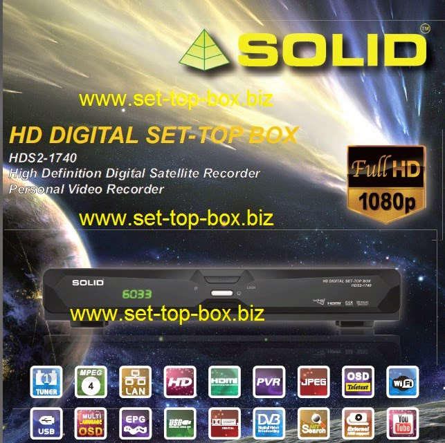 Solid HDS2-1740 HD Digital Set-Top Box