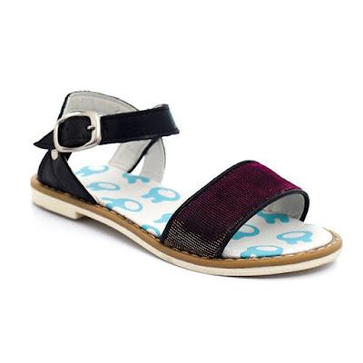 Sandalias de moda para niñas primavera verano 2018.