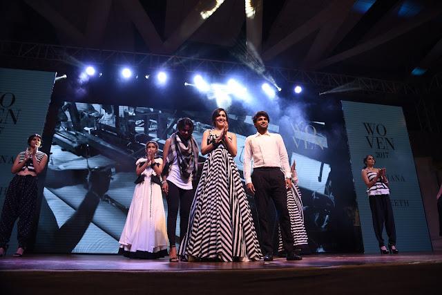 Actress Ritu Varma HD Photos at Woven 2017 fashion show
