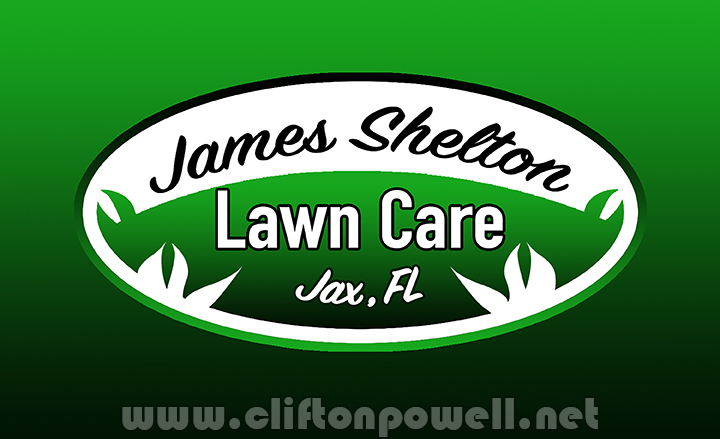 James Shelton Lawn Care Trademarked Logo 2020
