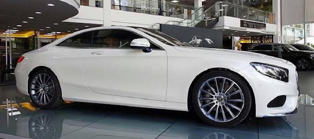 Mercedes S400 4MATIC Coupe 2017 được thiết kế tổng thể khí động học, thể thao, mạnh mẽ