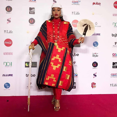 Toyin Lawani fashion and style looks