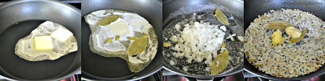 Paneer Butter Masala - Step1