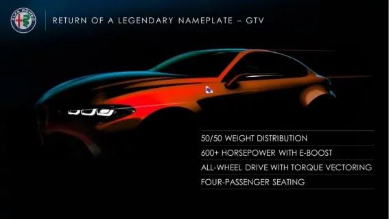Filtran las primeras imágenes del nuevo Alfa Romeo GTV