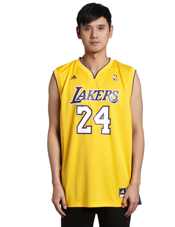 c64048ed5043 NBA Los Angeles Lakers Kobe Bryant Gold Replica Jersey Gold