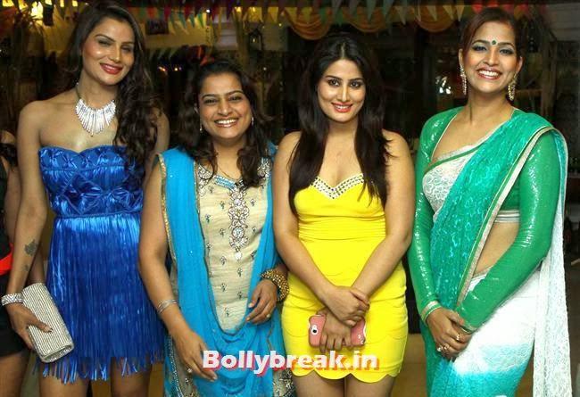Shamika, Ekta, Arjumman and Tanisha Singh, BGrade Movie Actresses Celebrate Republic Day at Peninsula Grand