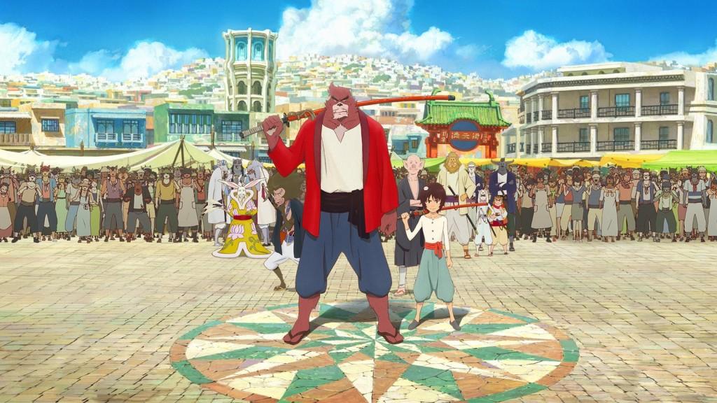 Bakemono no Ko reżysera Mamoru Hosody