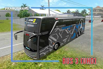 tipe bus uhd ebs id 3 pariwisata