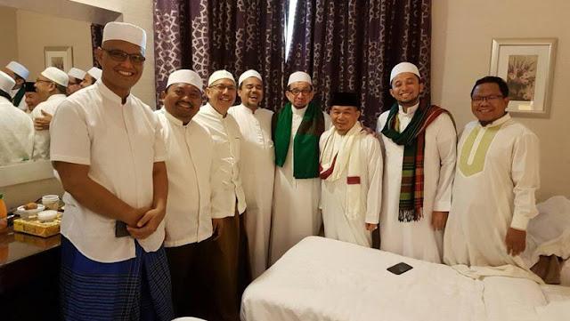 Habib Rizieq Bertemu dengan PKS dan Amien Rais saat Umroh, ada afa?