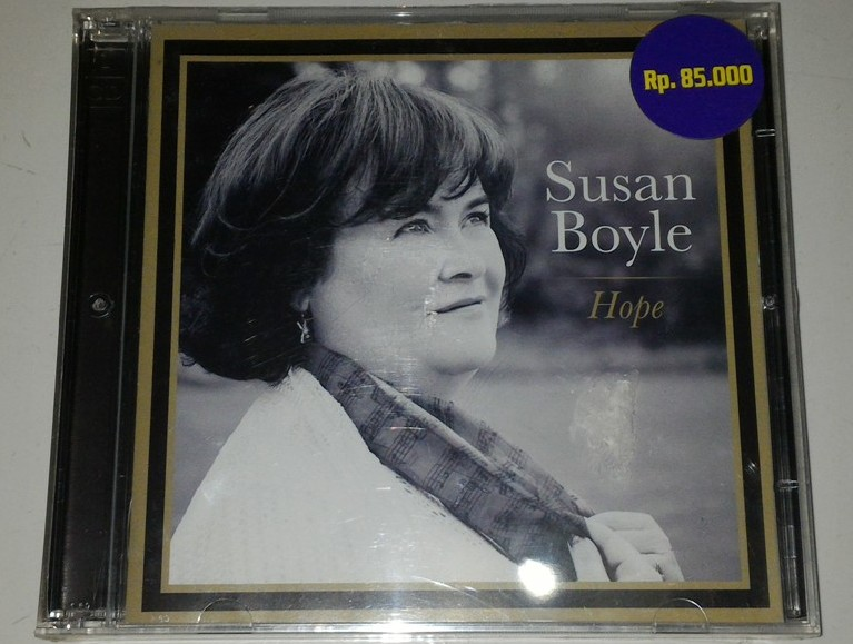 cd susan boyle hope gudang musik shop. Black Bedroom Furniture Sets. Home Design Ideas