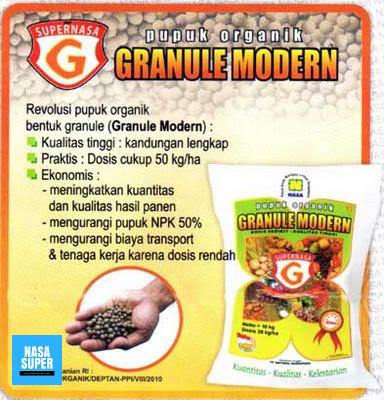 Grosir Produk Nasa GRANULE MODERN (Pupuk Organik)