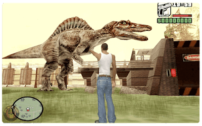 GTA San Andreas Jurassic Park Operation Mod (Download Free)