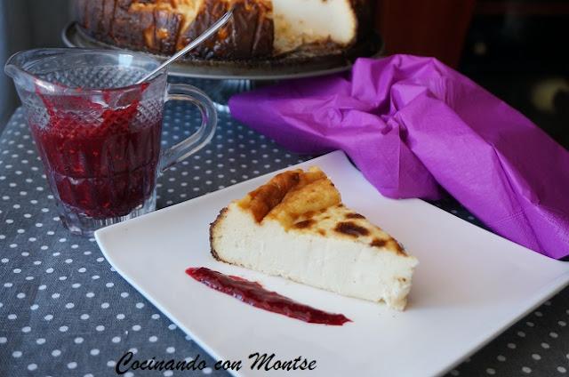 Tarta de queso con leche condensada