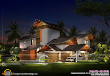 Sloped Flat Roof House Designs