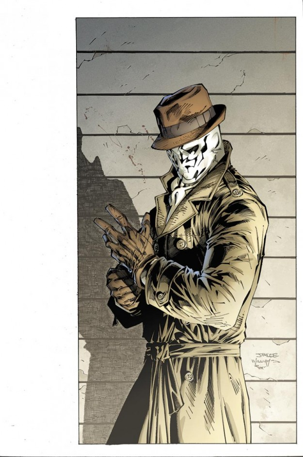 Fashion And Action Before Watchmen Rorschach 1 4