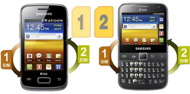 Samsung galaxy y duos and galaxy y pro duos