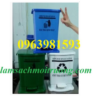 Thùng rác y tế, thùng rác đạp chân, thùng rác y tế 20 lít giá rẻ