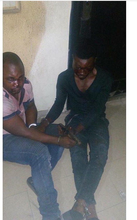 Two Kidnappers Arrested While Escaping With Victim
