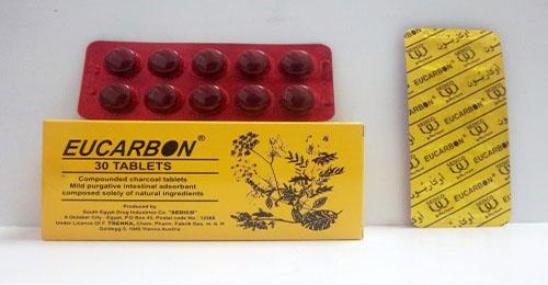 سعر ودواعي إستعمال أقراص أوكاربون Eucarbon لعلاج الأنتفاخ
