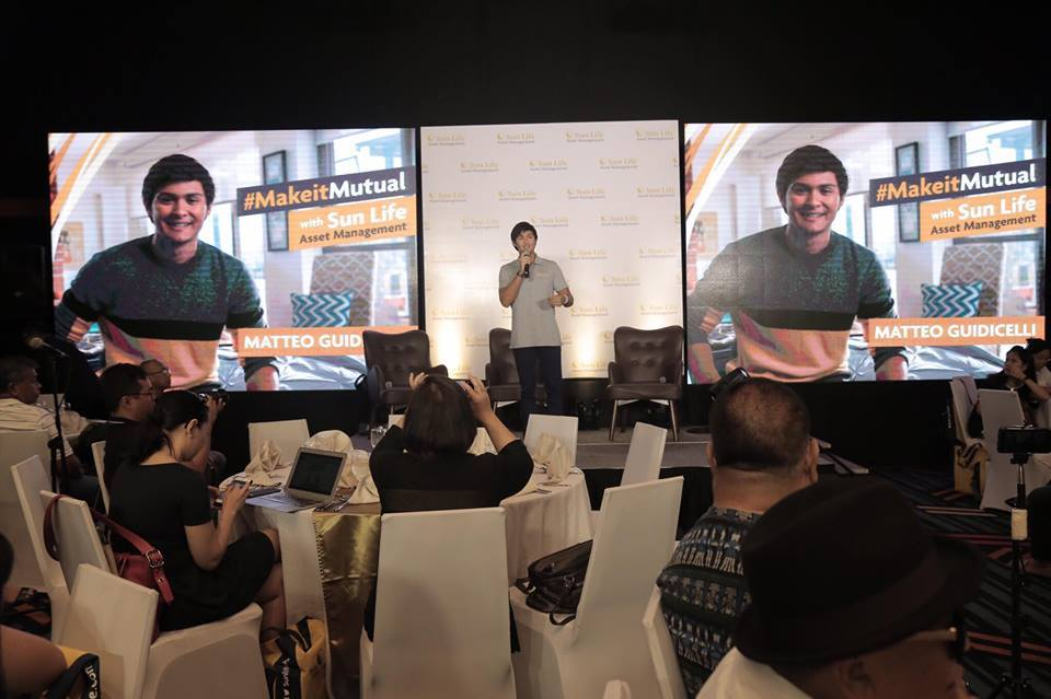 Matteo Guidicelli And Sun Life Launch Vlog on Investing