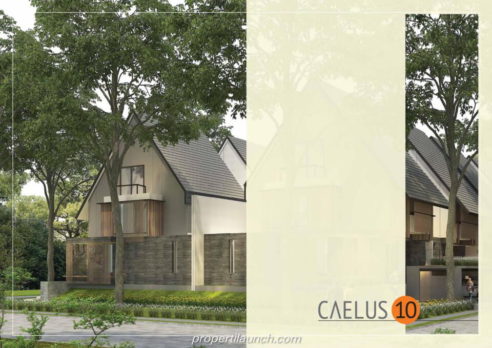 Rumah Cluster Caelus Tipe 10