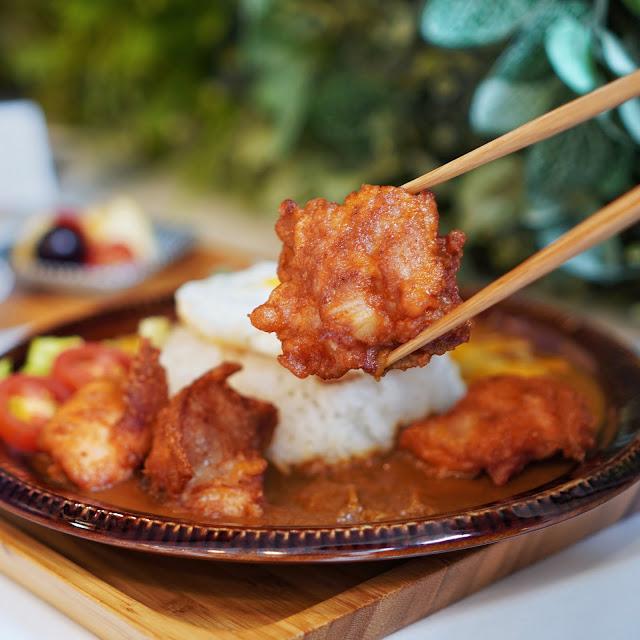 台南美食【豆弄.手作】咖哩唐揚雞