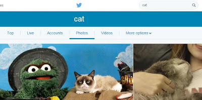Twitter Search constrained to Photos