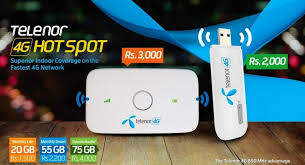 telenor-pakistan-launches-4g-devices