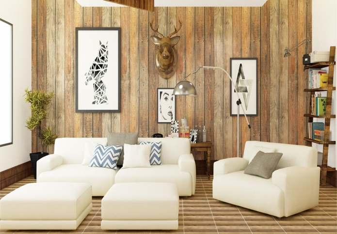 32 Motif Keramik Dinding Ruang Tamu  yang Minimalis Terbaru