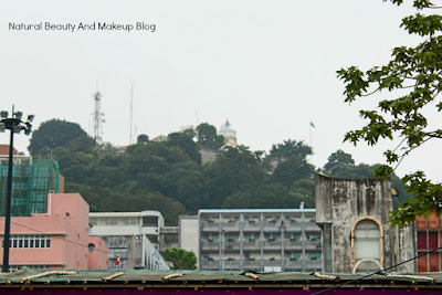 A shot of Guia Fortress in my Destination Macau Day 3 blogpost, UNESCO enlisted heritage site and historical place
