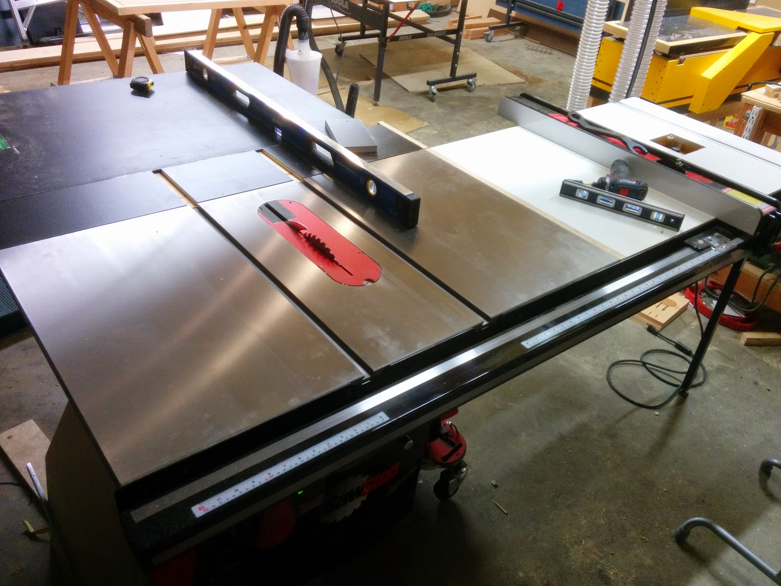 Hammer B3 Winner Sliding Table Saw Review Experience Improve Make