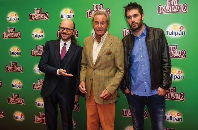 Santiago Segura, Arturo Fernández y Dani Martínez