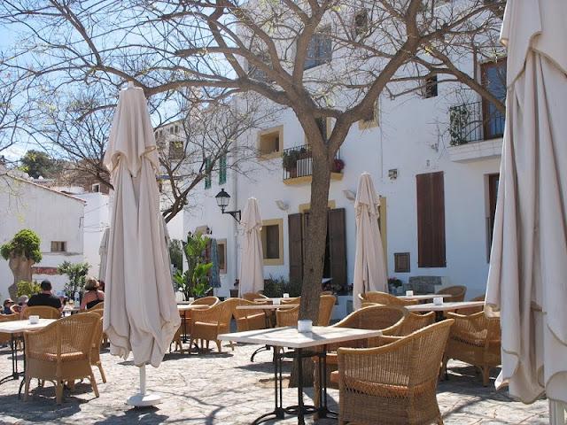 Plaza del Sol em Ibiza