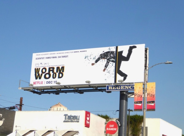 Wormwood series launch billboard