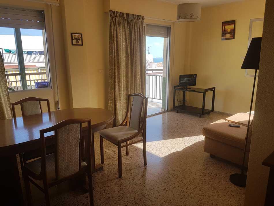 apartamento en alquiler calle les barraques benicasim salon