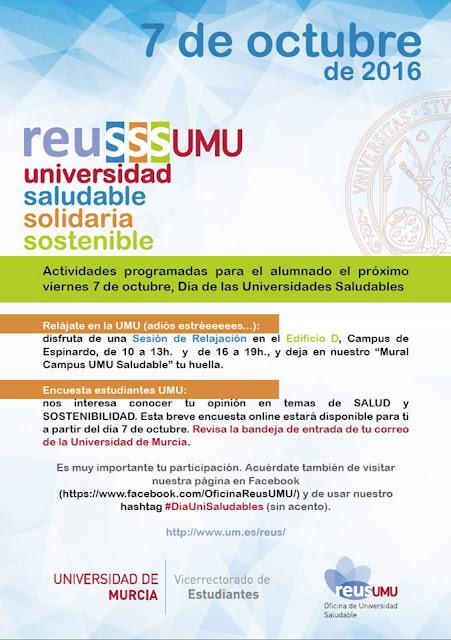 Día de las Universidades Saludables.