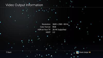 Mengatasi black screen pada PS4 Pro