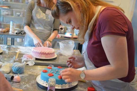 Dr. Oetker taart workshop en cupcake workshop