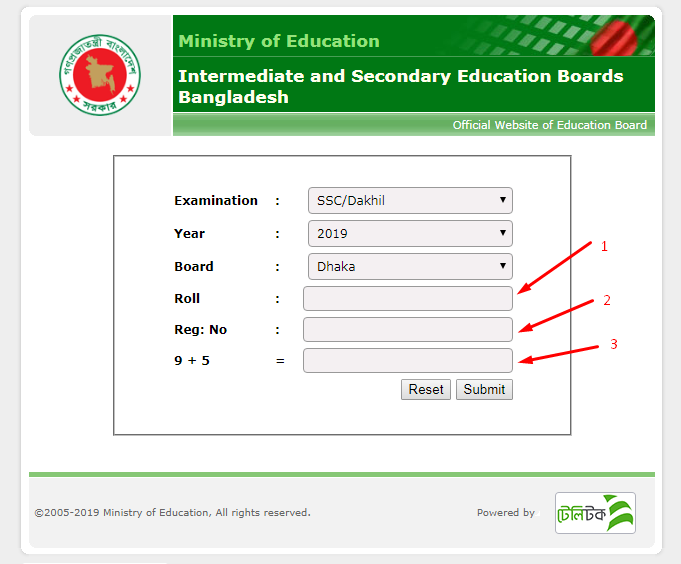 SSC Result 2019   All Education Board Results