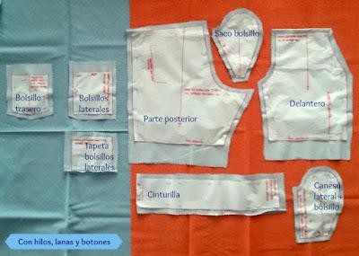 Con hilos, lanas y botones: DIY Bermudas para niño paso a paso