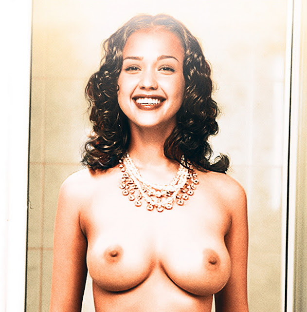 Jessica Alba young and nude