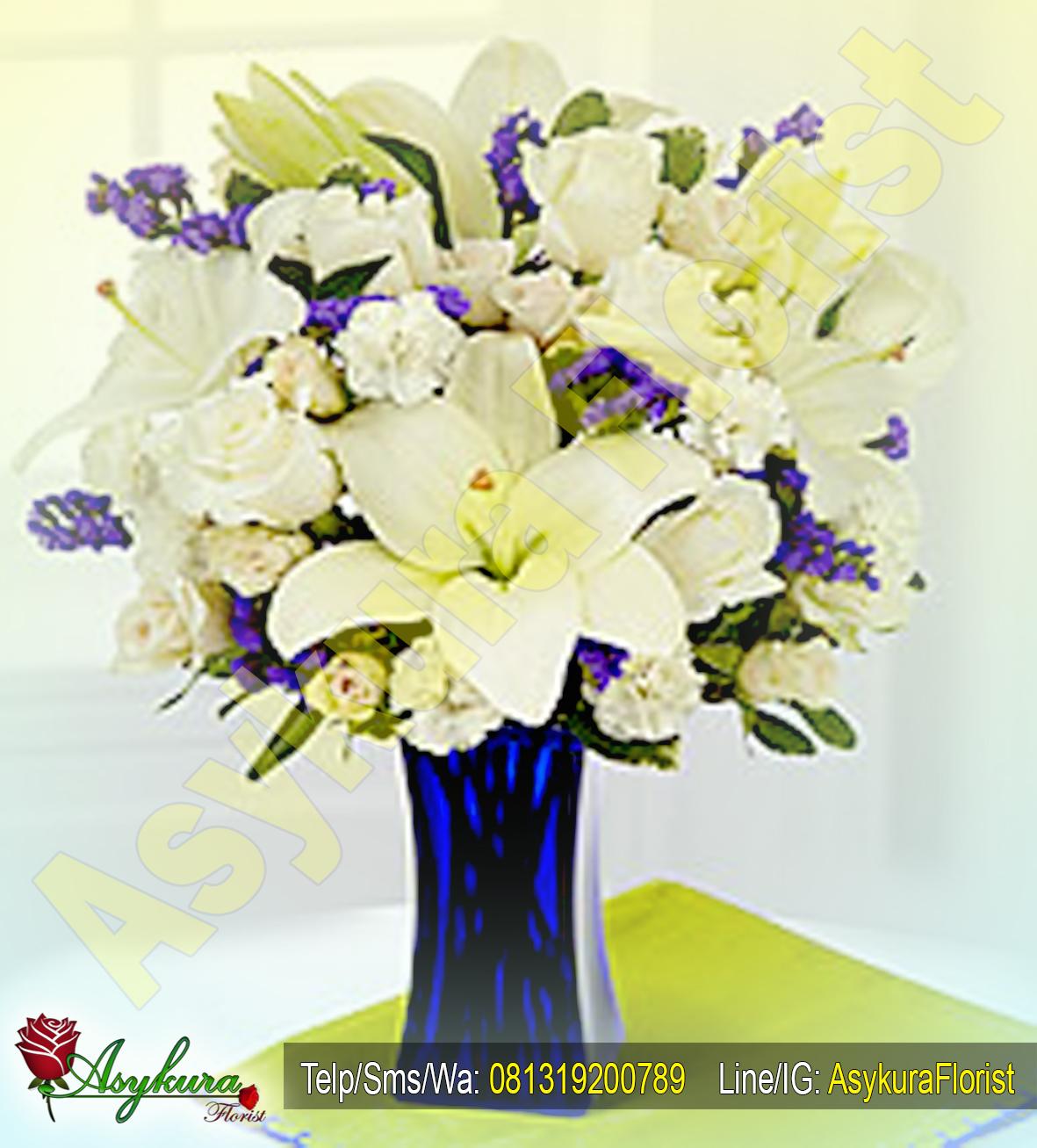Rangkaian Bunga Meja Table Flower Toko Karawang Asykura Impor