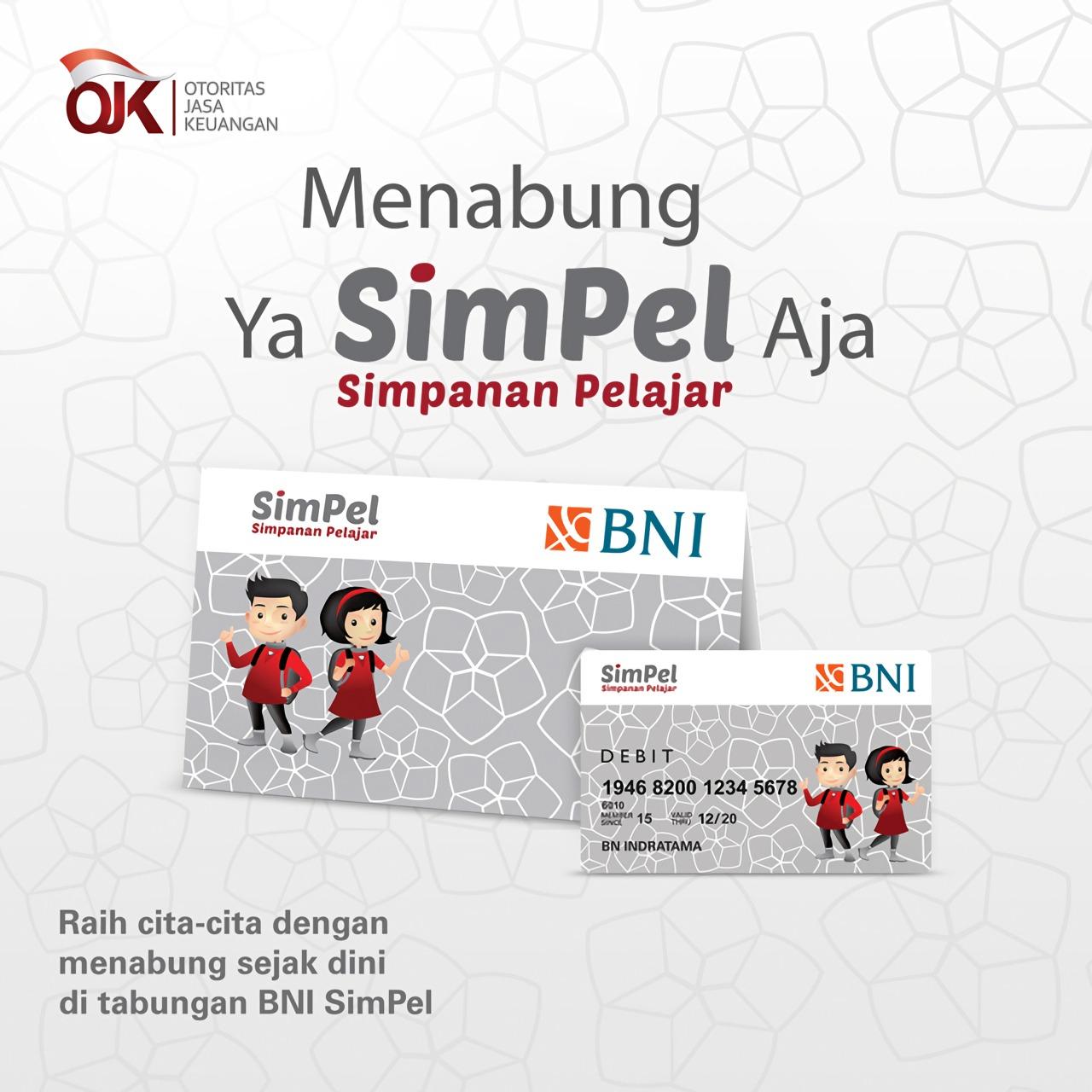 Cara dan Syarat Membuka Tabungan SimPel dari Bank BNI