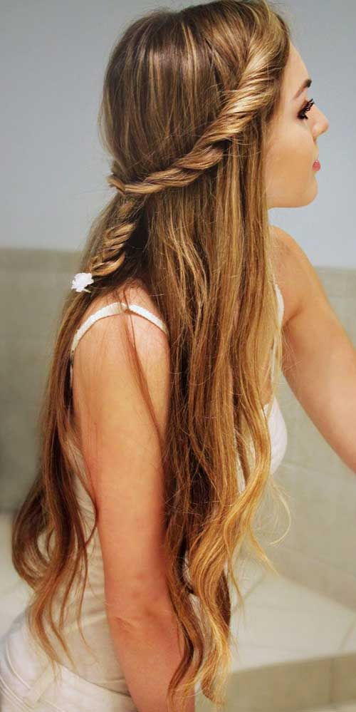 Nice Haircuts For Long Hair Style And Color Woman