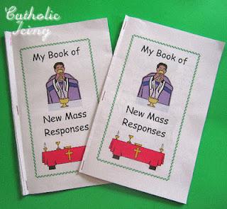 Free, Printable Mass Response Booklet for Kids - CatholicMom com