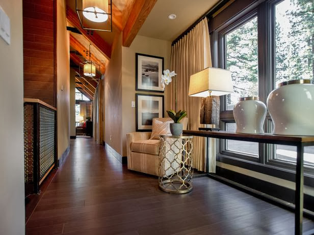 Fall Wood Wallpaper Hgtv Dream Home 2014 Second Floor Hallway Pictures