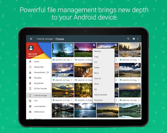 تحميل تطبيق File Manager Premium