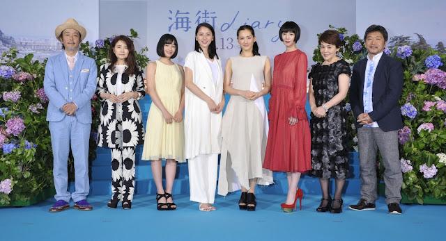 広瀬すず Suzu Hirose 海街diary Our Little Sister Images 04