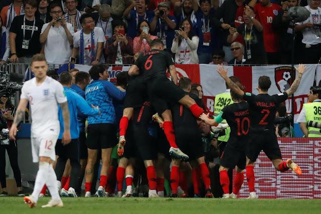 Kejadian lucu kroasia vs inggris